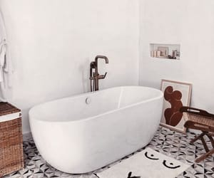 bath, bathroom, and beautiful image