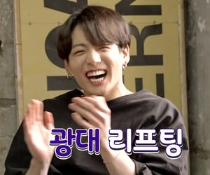 laughing, bts, and run bts image