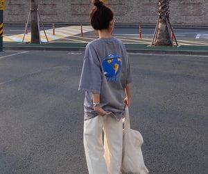 asian girl, oversized, and ulzzang girl image
