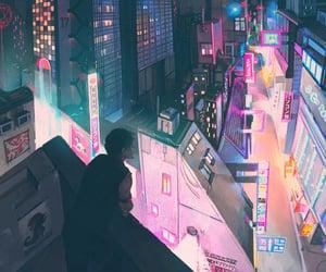 anime and tokyo image