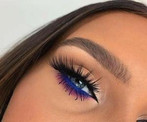 eyeshadow, makeup, and girls image