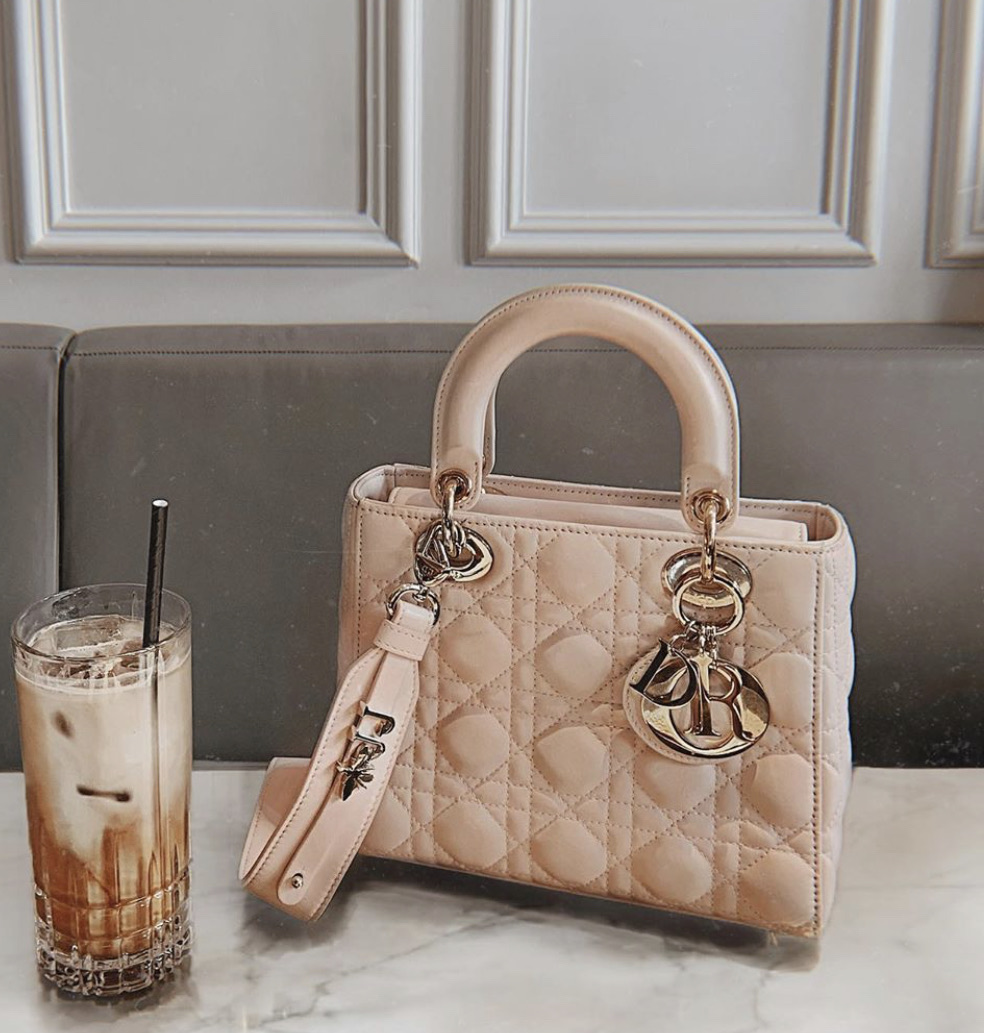 bag, dior, and drink image