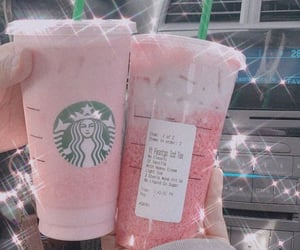 coffee, drink, and starbucks coffee image