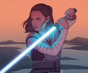 star wars and rey image