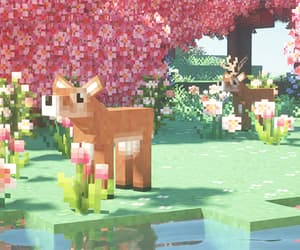 aesthetic, pastel, and minecraft aesthetic image