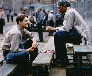 90s, morgan freeman, and tim robbins image