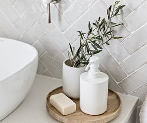 bathroom, decoration, and decor image