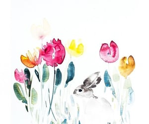 happy easter, cute, and Ilustration image