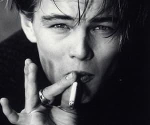 leonardo dicaprio, boy, and smoke image