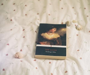 book, northanger abbey, and read image