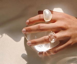 rings, aesthetic, and diamond image
