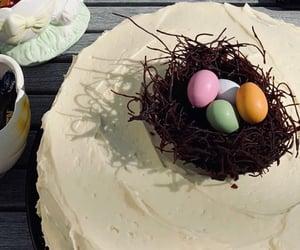 april, bird, and cake image