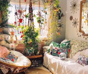 comfy, plants, and room image