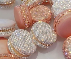 glitter, food, and aesthetic image