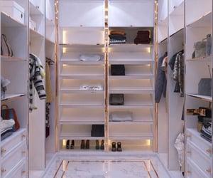 classy, closet, and decor image