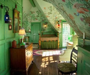 vintage, bedroom, and decor image