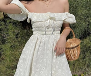 dress, aesthetic, and cottagecore image