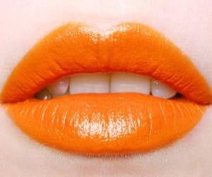 aesthetic, lipstick, and lips image