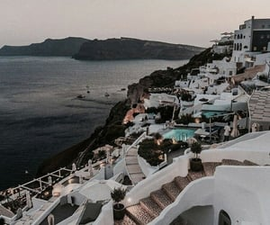 travel, Greece, and places image
