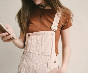 girl, outfit, and phone image