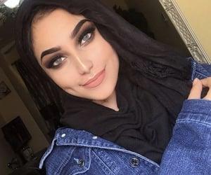 arabs, beautiful, and hijab image