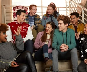 disney, high school musical, and series image