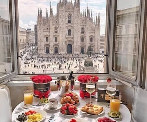 food, breakfast, and italy image