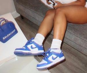 Balenciaga, blue, and style image