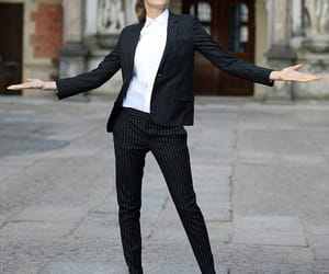 suit and cara delevingne image