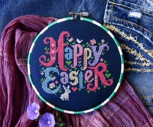 costura, easter, and happy image