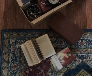 book, box, and memories image