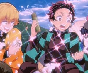 cuties, demon slayer, and cute anime boys image