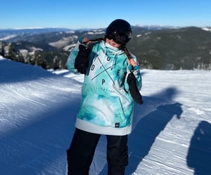 blue, snowboarding, and bulgaria image
