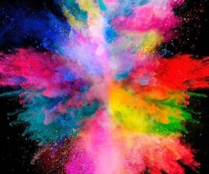 boom, color, and explosion image