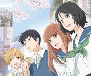 anime, shoujo, and omoi omoware furi furare image
