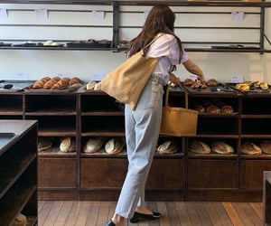 bakery, bread, and carbs image