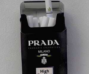 Prada, aesthetic, and black image