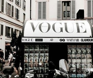 vogue, city, and fashion image
