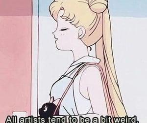 animation, weird, and anime image