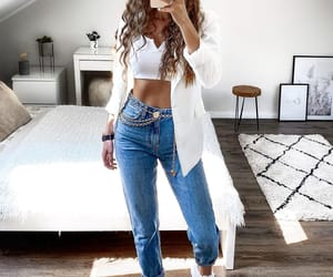 fashion, jeans, and stylé image