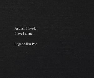 quotes, edgar allan poe, and words image