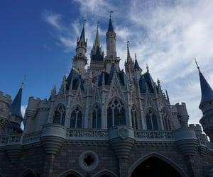 cinderella, disney, and magic kingdom image