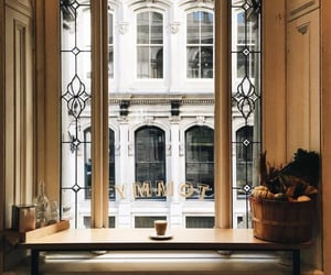cafe, photography, and window image