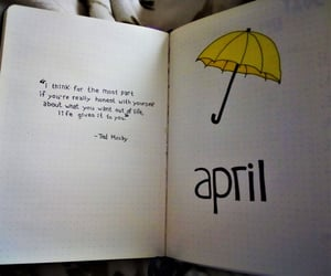 himym, journal, and journaling image