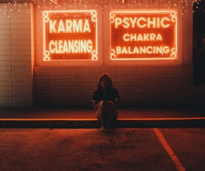 aesthetic, grunge, and lights image