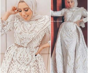 soiree dress hijab image