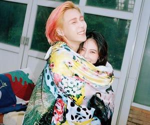 hyuna, dawn, and kpop image