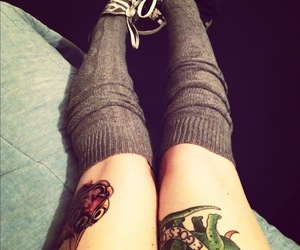 clothes and tattoo image