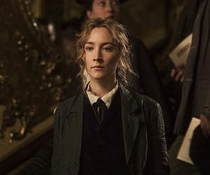 Saoirse Ronan, book, and notebook image