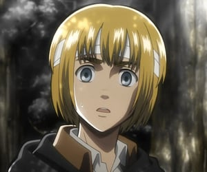 anime, armin, and shingeki no kyojin image